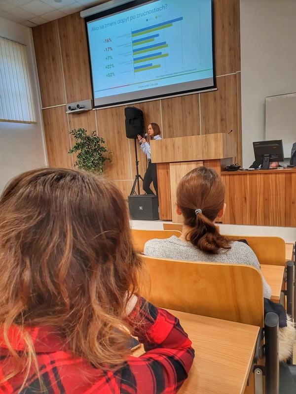 Promiseo prednáška na Fakulte manažmentu