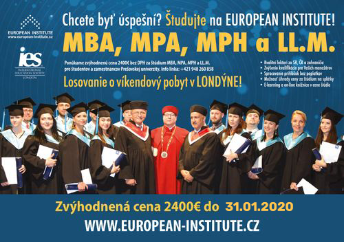 EUROPEAN INSTITUTE - Fakulta manažmentu UNIPO