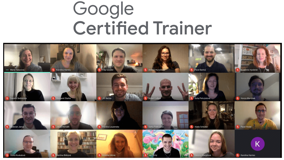 Google Certified Trainers 2021